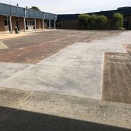 BEFORE: East Doncaster Secondary College Landscape Plan