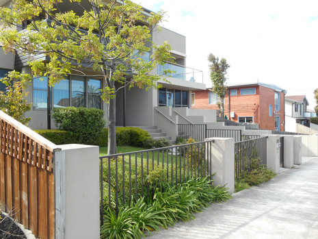 Landscape plan Parkdale units