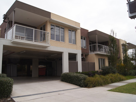 Landscape architecture apartments