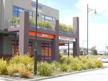 Landscape plan shopping centre