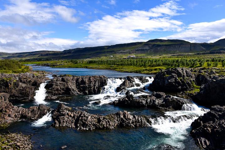 Glanni Falls, Iceland