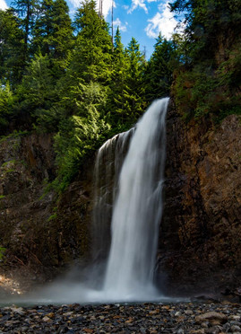 Silky Soft Waterfall Effect