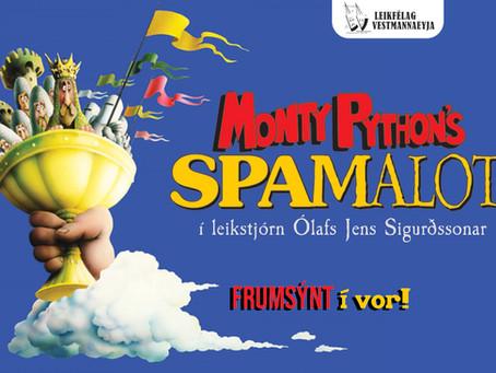SPAMALOT - Prufur í kvöld!