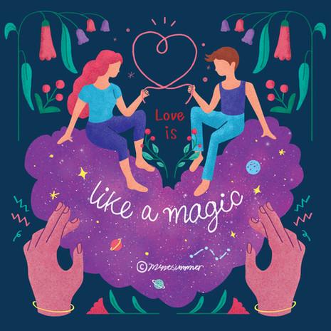 Love is like a magic