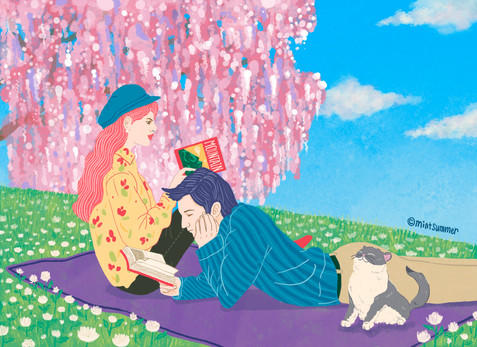 Spring lovers