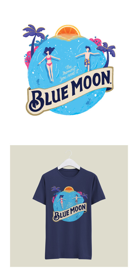Bluemoon Art Collaboration