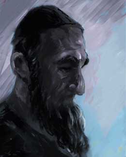 Portrait of a 'Haredi man