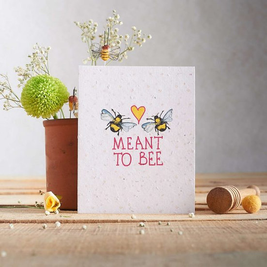 Meant to be - Wildflower Plantable Card