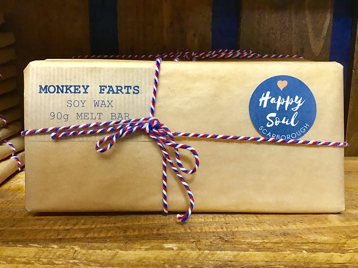 Soy Wax Melt Bar - Monkey Farts!