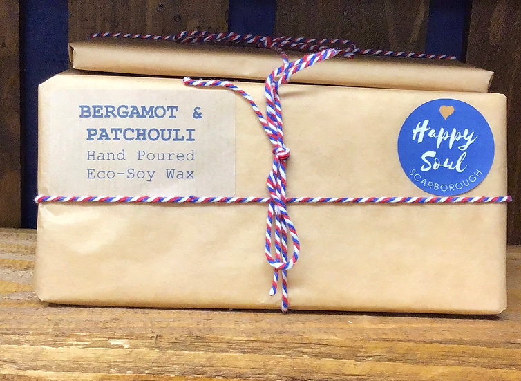 Soy Wax Melt Bar - Bergamot & Patchouli