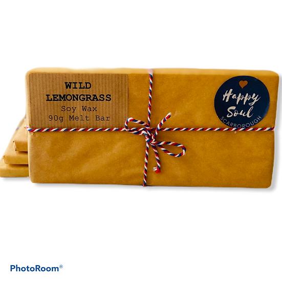 Soy Wax Melt Bar - Wild Lemongrass