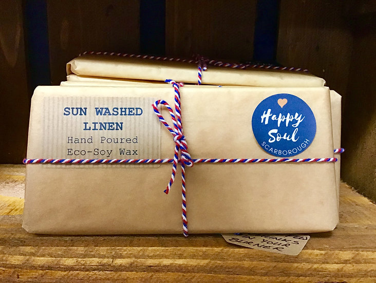 Soy Wax Melt Bar - Sun Washed Linen