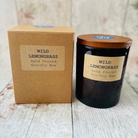 Wild Lemongrass Soy Wax Candle - 48 Hour Burn Time