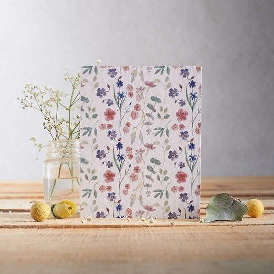 Pretty Watercolour - Wildflower Plantable Seed Card