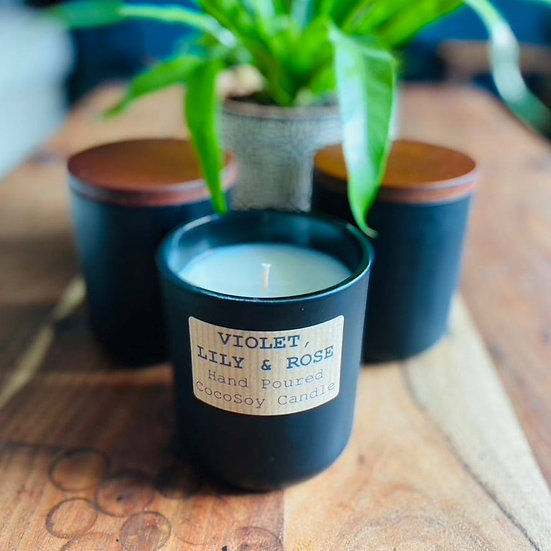 Violet, Lily & Rose CocoSoy Candle