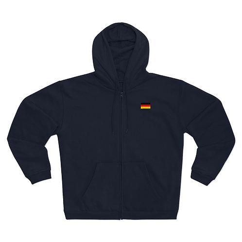 Unisex Hooded Zip Sweatshirt