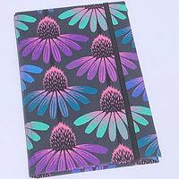 """5""""x8"""" Echinacea Fabric Notepad Holder"""