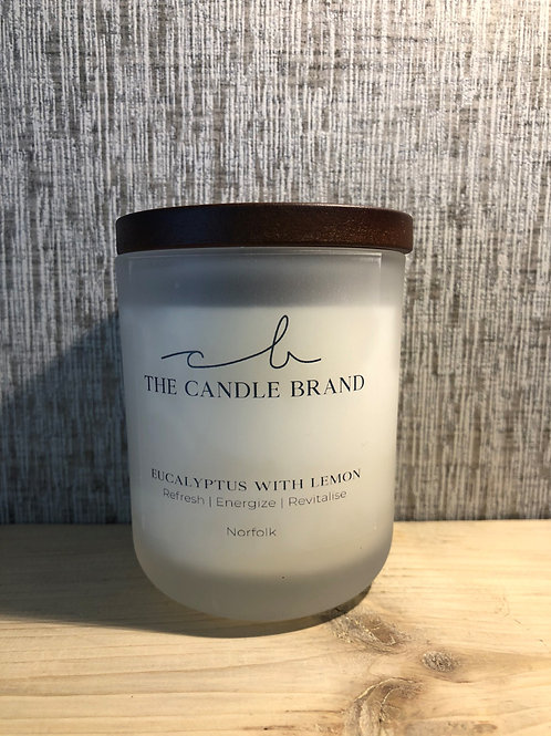 THE 35 HOUR CANDLE - Eucalyptus with Lemon