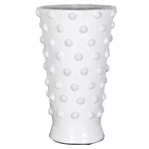 White Bobble Vase