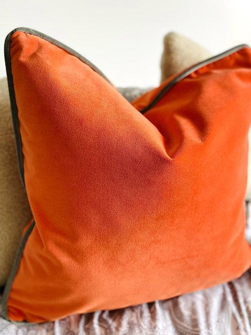 Tango - Italian Velvet Square Cushion