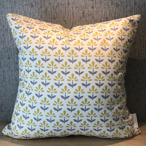 Yellow Flower Cushion