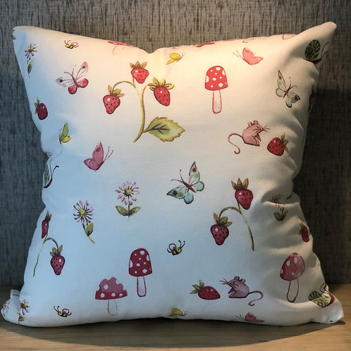 PINK STRAWBERRY CUSHION