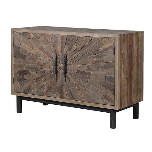 Elm Mosaic Low Cabinet