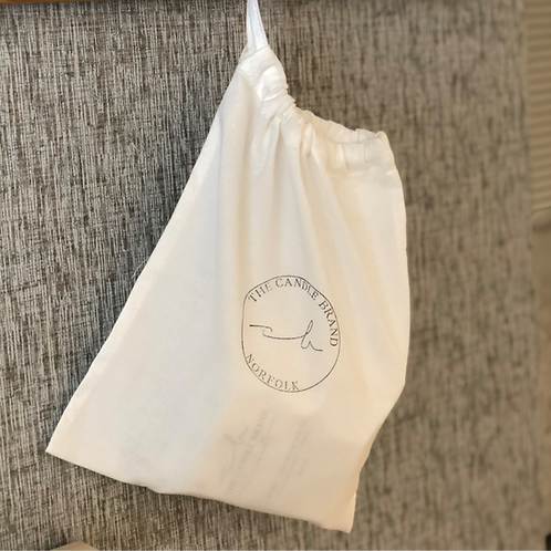 100% COTTON DRAWSTRING GIFT BAG