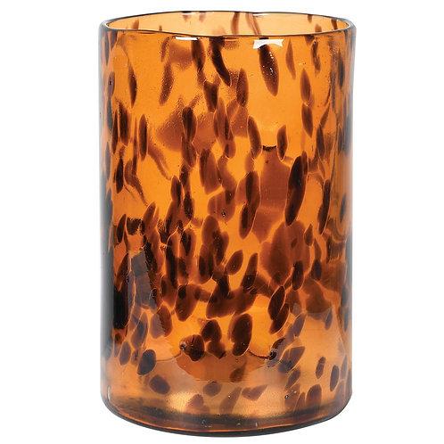 Tortoise Shell Effect Vase