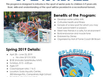 Registration is Open for Spring Splashball
