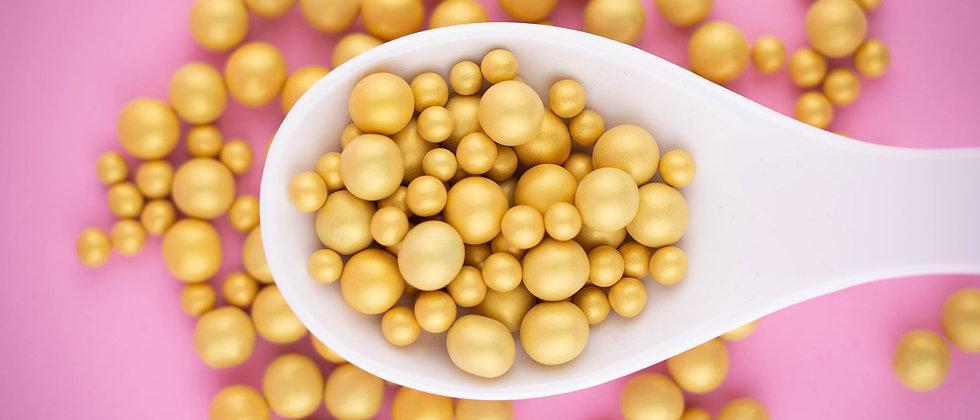 Schokokugeln - Gold