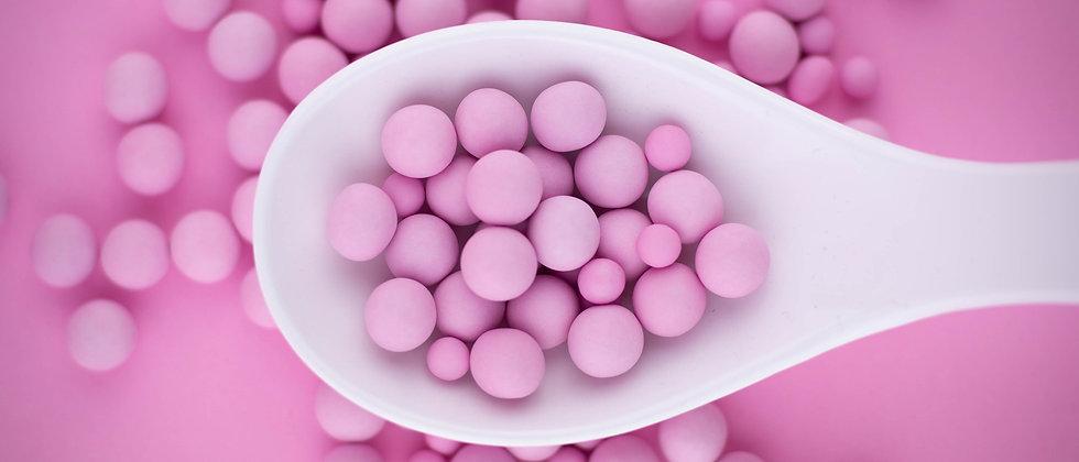Schokokugeln - Pastell Pink Matt
