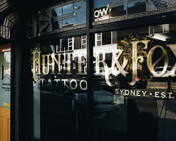 Hunter & Fox Tattoo | Sydney est 2011