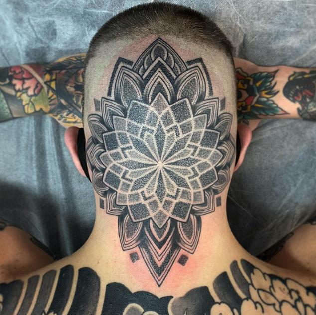 Geo Work Tattoo