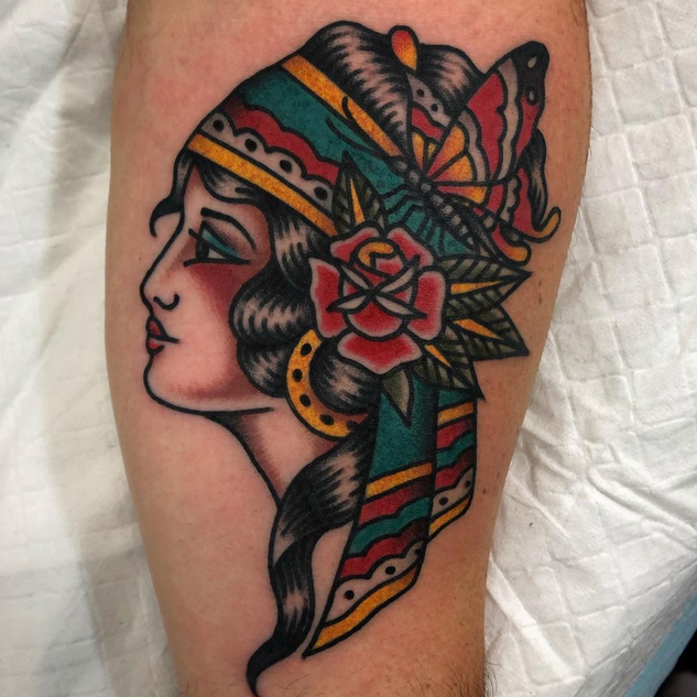 Traditional Gypsy Tattoo