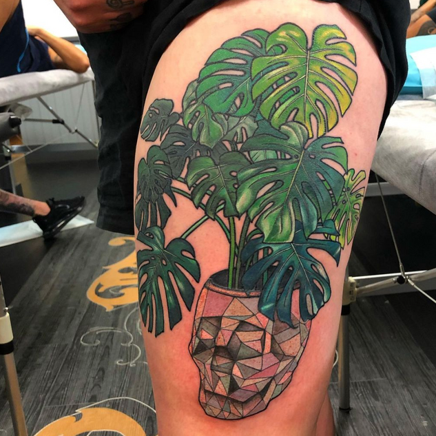 Monstera Tattoo
