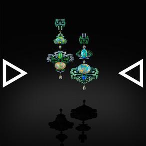 The Taotie Earrings