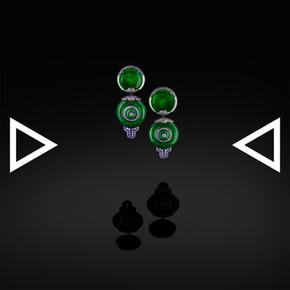 The Jade's bell Earrings