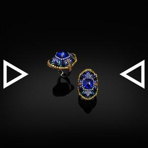 The Shield of Fleur-de-Lis Ring