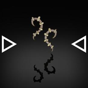 The Saint Antlers Earrings