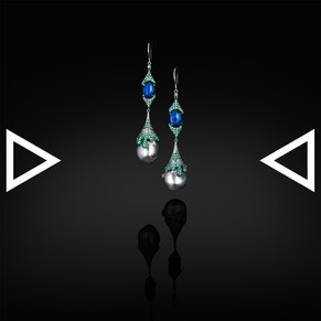 The Melting of Mint Gelato Earrings