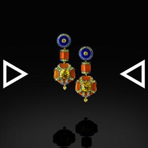 The Solar-Eternity Earrings