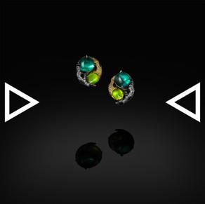 The Heterochromia Vision Earrings