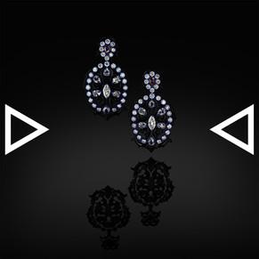 The Jackalope Chandelier Earrings
