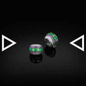 The Punk Classical Jacket Ring