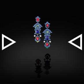 The Pradakshina Earrings