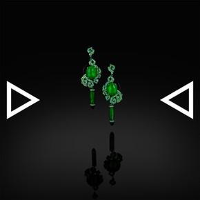 The Jade Emperor Earrings