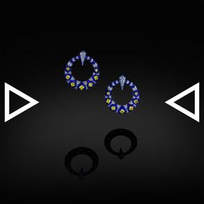 The Ring of Neptune Earrings