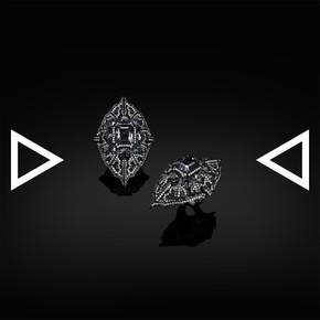 The Shield Of Black Hollyhock Ring