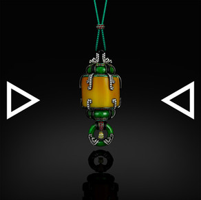 The Jade Vessel Necklace